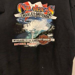 Harley-Davidson Shirts - Clare's Harley Davidson of Niagara Biker T-Shirt